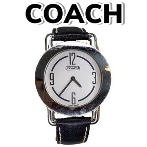 Coach Leather Band Wristwatch